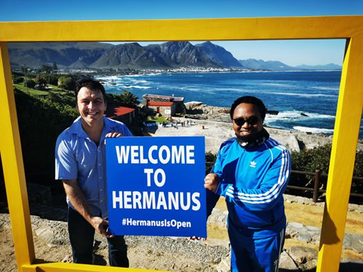 #HermanusIsOpen marketing and promotions campaign for Hermanus, near Cape Town, South Africa