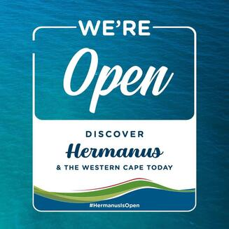 Hermanus is open for tourists