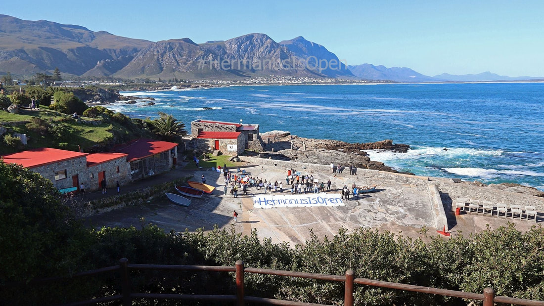 Hermanus Is Open - the delightfully pretty seaside town of Hermanus is most certainly OPEN for you to explore #HermanusIsOpen, near Cape Town, South Africa