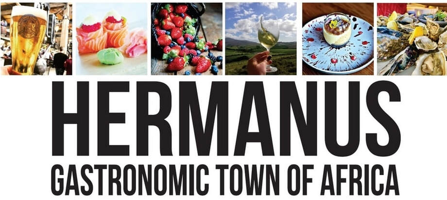Hermanus is the gastronomic town of Africa - UNESCO award - near Cape Town, South Africa